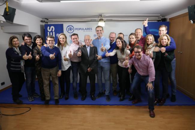 El PP de Almería no oculta su alegría por los resultados