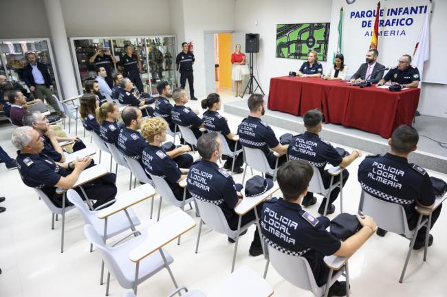 12 nuevos agentes se forman en la Policía Local de Almería