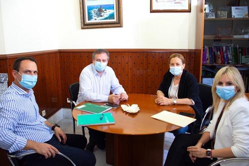 El delegado de Turismo visita Níjar y Pulpí
