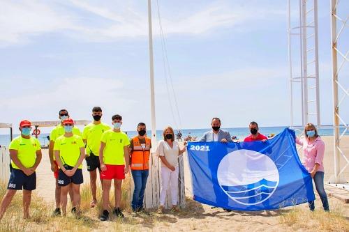 Turismo entrega las Banderas Azules a Níjar