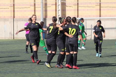 Victoria por 0-3 del equipo femenino del CD El Ejido ante el Loma de Acosta
