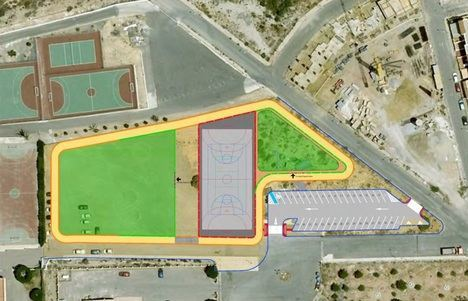 Diputación invierte 370.000 euros en un nuevo espacio lúdico-deportivo en Huércal de Almería