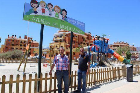 El Ayuntamiento de Pulpí invierte en equipamiento y mejoras en parques infantiles de todo el municipio