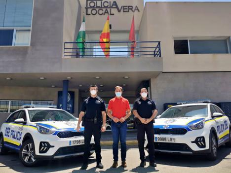 Dos nuevos vehículos para la Policía Local de Vera