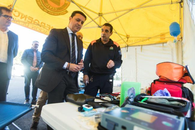 Protección Civil de Diputación suma a un nuevo vehículo como puesto de mando