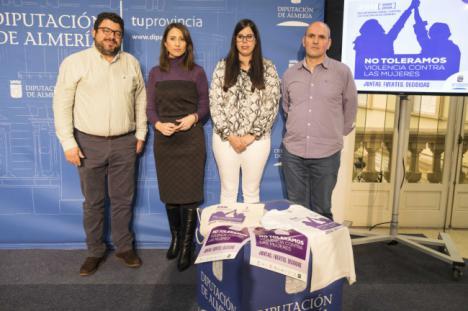 Diputación conmemora el Día Internacional de la Eliminación de la Violencia Contra las Mujeres