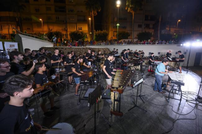 Inolvidable concierto de clausura de la OCALDrum
