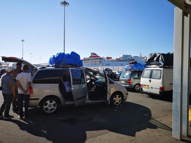 Más de 195.000 pasajeros pasaron por el Puerto de Almería entre enero y mayo
