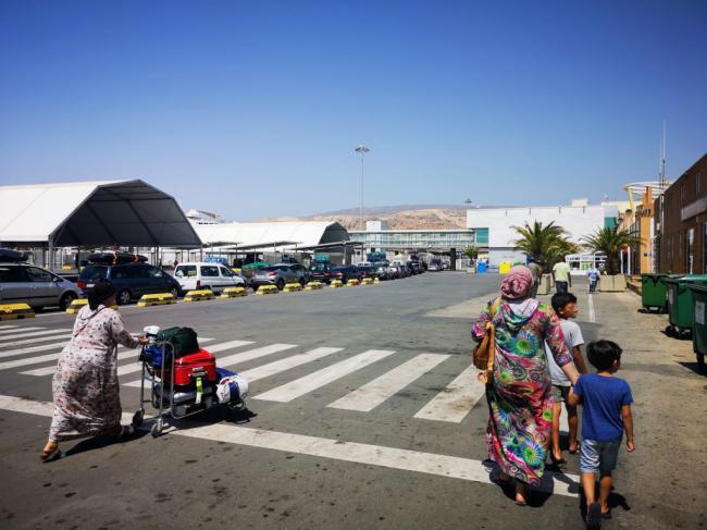 El Puerto de Almería supera los 200.000 pasajeros en la OPE