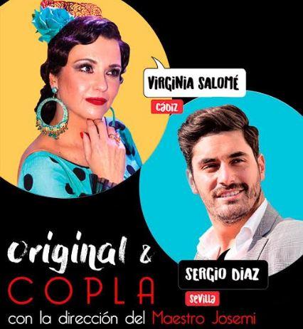 El programa 'Original y Copla' llega al Auditorio con Virginia Salomé y Sergio Díaz
