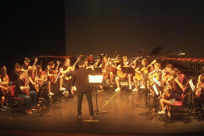 Conciertos de fin de curso en la Escuela Municipal de Música de Roquetas de Mar
