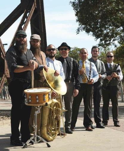 La almeriense 'Old South Brass Band' presenta en concierto su 'Down to Orleans'