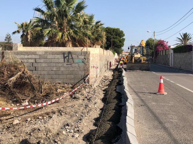 Mejora de la Carretera de Sacramento en La Cañada