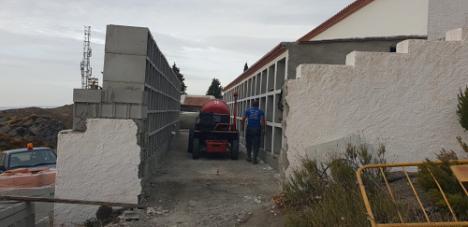 Diputación impulsa la mejora de 23 cementerios de Almería con 549.000 € de inversión