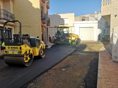 Finalizan las obras de la calle Pozo de Tabernas