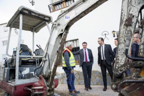 Arboleas se suma al Plan de Mejora de Infraestructuras Hidráulicas del Levante y Almanzora de Diputación