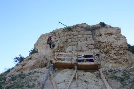 'Abierto por obras' el Cerro del Espíritu Santo de Vera