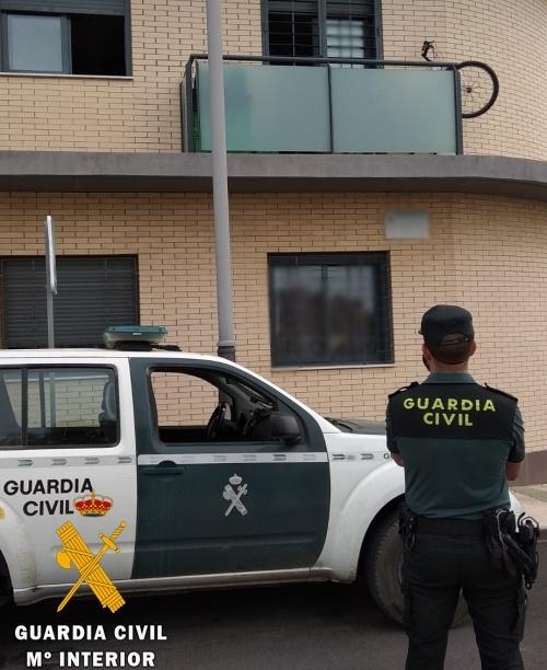 La Guardia Civil detiene al autor del robo con con escalo en dos viviendas de Viator