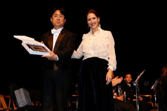 Dabyeot Youth Wind Orchestra de Corea del Sur ue su música y la Sinfónica de El Ejido