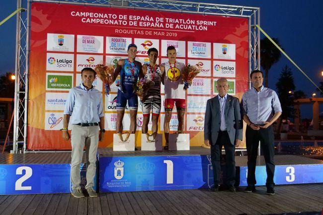 Diputación apoya el Campeonato de España de Triatlón sprint y Acuatlón de Roquetas de Mar