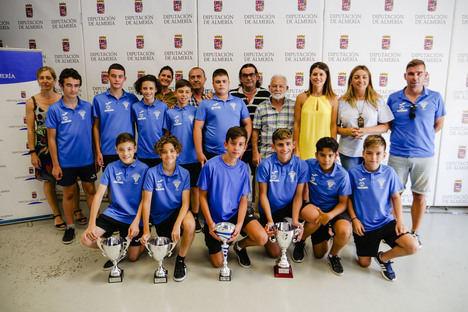 Diputación recibe al CD Viator proclamado Campeón de Andalucía de Fútbol Sala Infantil