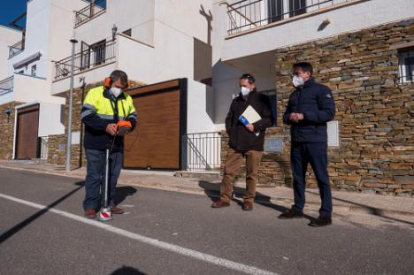 Diputación detecta y elimina 100 fugas hídricas