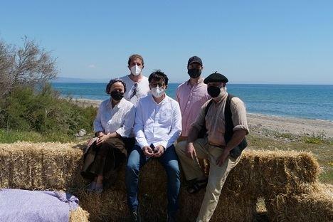 Jaime García Parra rueda 'Enero del 66' en la Playa Macenas con apoyo de Diputación