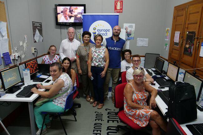 Diputación acerca el currículum vitae europeo a Lucainena de las Torres