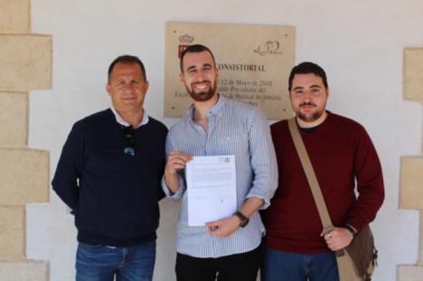 NNGG de Huércal de Almería denuncia la supresión del área de Juventud