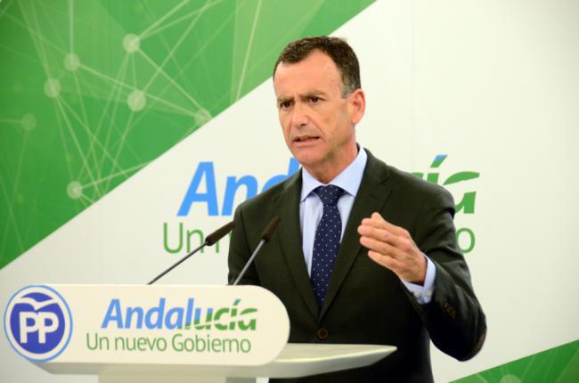 Venzal anuncia 140.000 empleos en Andalucía este año