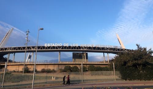 Cierre del Estadio de Los Juegos del Mediterráneo para su desinfección