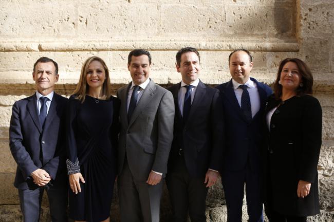 Moreno: 'Ha llegado el momento dehacer políticas distintas en Andalucía'
