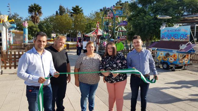 El parque de ocio infantil abre sus puertas en Campohermoso