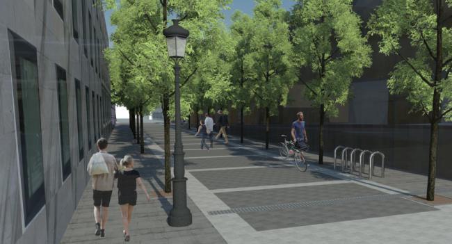 Ocho ofertas para las obras de peatonalización de la calle Trajano y entorno