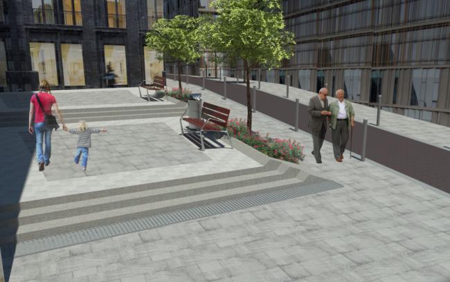 Adjudicada la peatonalización de la calle Trajano y su entorno