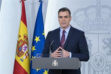 El presidente Sánchez decreta 'Estado de Alarma'