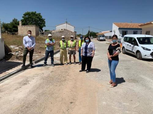 El PFEA mejora infraestructuras de Chirivel con una inversión de 265.000 euros