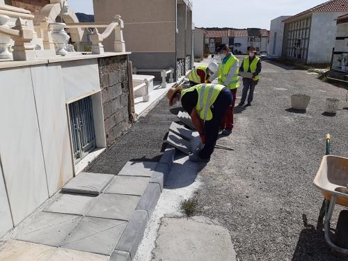 El PFEA de Diputación genera 554 empleos en Almería en mayo