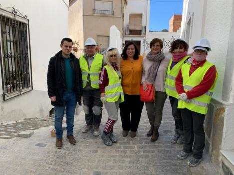 El PFEA genera en Serón y Tíjola 4.000 jornales con 417.000 euros