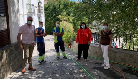 Diputación mejora infraestructuras en Beires y Alcolea con 275.000 euros