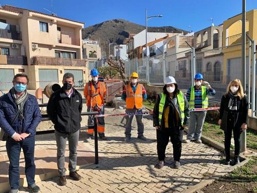 El PFEA de Diputación moderniza infraestructuras públicas en Berja y Laujar de Andarax