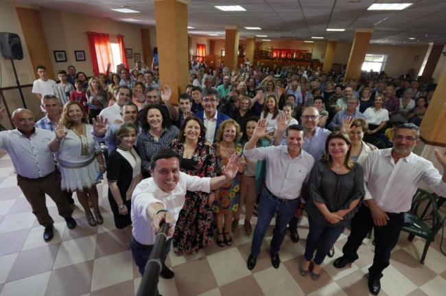 """Nuria Rodríguez se compromete a """"seguir construyendo el mejor futuro"""" para Balanegra"""
