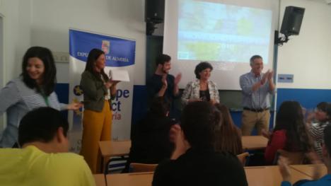 Diputación acerca la movilidad europea a jóvenes de Olula del Río