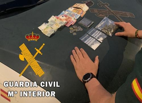 Detenido en Tabernas por tráfico de drogas