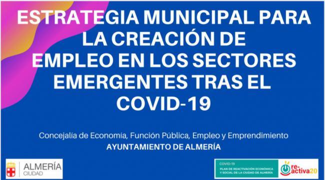 Estrategia para Creación de Empleo en Sectores Emergentes a raíz del #COVID19