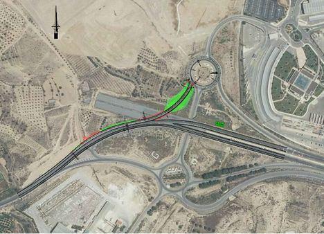 La Junta licita por 300.000€ obras para la mejora de la seguridad vial de la A-334