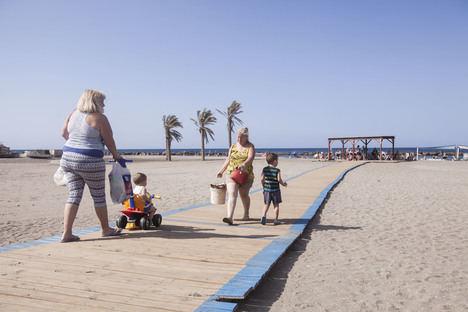 Las playas de la capital contarán con dos banderas azules