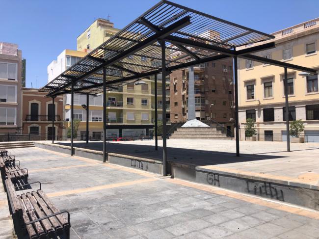 Cuatro empresas optan a realizar las obras de remodelación de la Plaza López Falcón