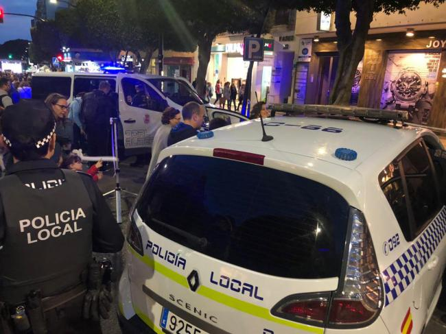 La Policía Local detiene a un sujeto acusado de golpear y amenazar a su pareja