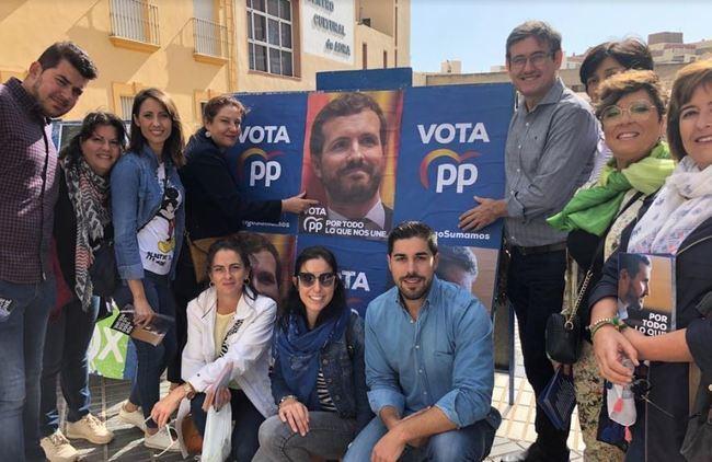 El PP de Adra lleva las propuestas de Pablo Casado para mejorar España